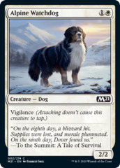 Alpine Watchdog - Foil