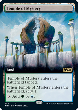 Temple of Mystery - Foil - Extended Art