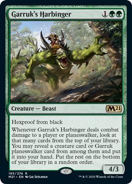 Garruks Harbinger