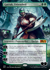 Garruk, Unleashed - Foil - Borderless