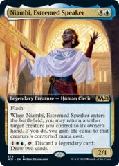 Niambi, Esteemed Speaker - Extended Art