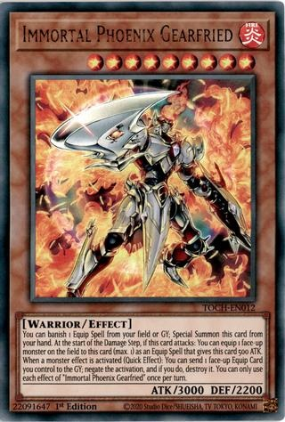Roland TOCH-EN014 Unlimited Ed YuGiOh Card NEW Ultra Rare Infernoble Knight