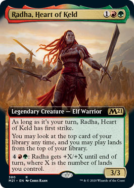 Radha, Heart of Keld - Extended Art