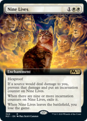 Nine Lives - Foil - Extended Art