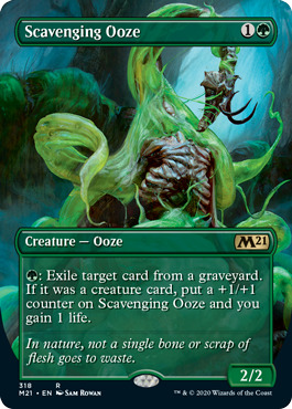 Scavenging Ooze - Foil - Alternate Art