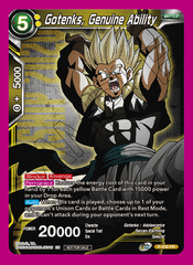 Gotenks, Genuine Ability (Championship Pack 2020 Vol. 2) - P-239 - PR