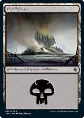 Swamp (058) - phyrexian script