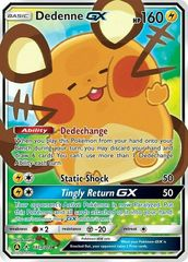 Dedenne GX - 195a/214 - Alternate Art Promo on Channel Fireball