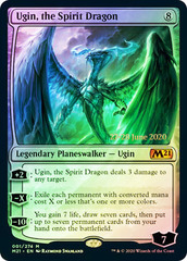 Ugin, the Spirit Dragon - Foil - Prerelease Promo