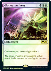 Glorious Anthem - Foil - Prerelease Promo