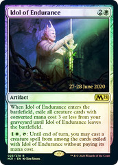Idol of Endurance - Foil - Prerelease Promo