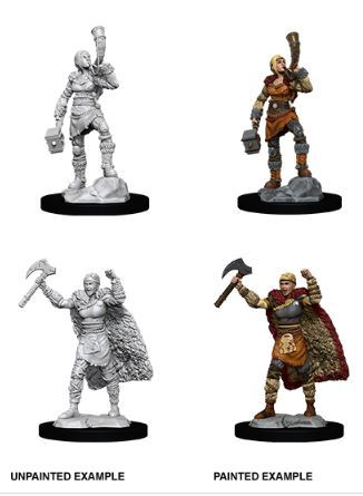 Nolzurs Marvelous Miniatures - Female Human Barbarian