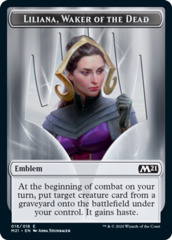 Emblem - Liliana, Waker of the Dead