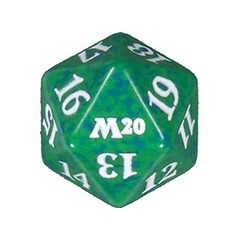 Magic Spindown Die - Core Set 2020 - Green