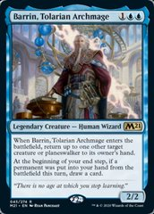 Barrin, Tolarian Archmage - Foil - Promo Pack