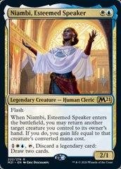 Niambi, Esteemed Speaker - Foil - Promo Pack