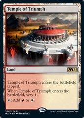 Temple of Triumph - Foil - Promo Pack