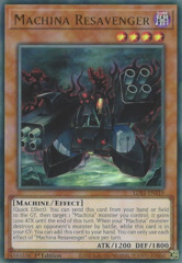 Machina Resavenger - LDS1-EN119 - Ultra Rare - 1st Edition