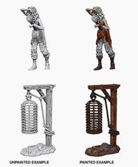 Nolzur's Marvelous Miniatures - Male Hanging Cage