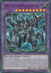 Ancient Gear Megaton Golem (Purple) - LDS1-EN088 - Ultra Rare - 1st Edition