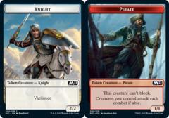 Knight Token // Pirate Token - Foil