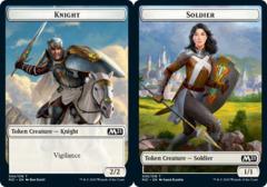 Knight Token // Soldier Token - Foil