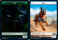 Cat Token (011) // Dog Token - Foil
