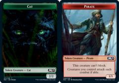 Cat Token (011) // Pirate Token - Foil