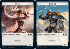 Angel Token // Knight Token - Foil