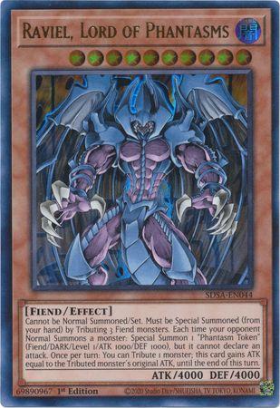 Raviel, Lord of Phantasms - SDSA-EN044 - Ultra Rare - 1st Edition