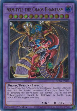 Armityle the Chaos Phantom - SDSA-EN045 - Ultra Rare - 1st Edition