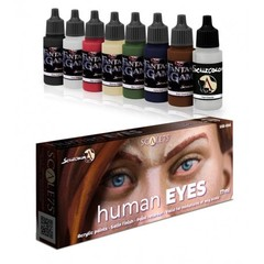 Scale75 - Scalecolor Range - Human Eyes - SSE-056 - Paint Set