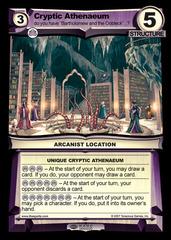 Cryptic Athenaeum