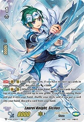 Laurel Knight, Sicilus (Full Art) - V-EB14/SP09EN - SP