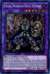 Fossil Warrior Skull Knight - BLAR-EN007 - Secret Rare - 1st Edition