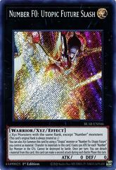 Number F0: Utopic Future Slash - BLAR-EN046 - Secret Rare - 1st Edition