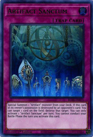 Artifact Sanctum - BLAR-EN075 - Ultra Rare - 1st Edition