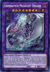 Chimeratech Megafleet Dragon - BLAR-EN085 - Secret Rare - 1st Edition
