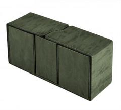Ultra Pro - Alcove Vault Flip Box - Suede Collection: Emerald