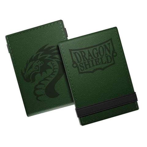 Dragon Shield: Life Ledger Scorepad Forest Green and Black