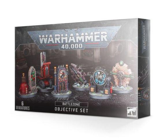 Battlezone Manufactorum Objective Set