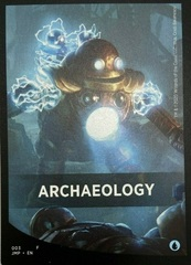 Archaeology Theme Card
