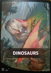 Dinosaurs Theme Card
