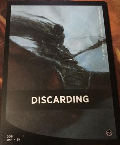 Discarding Theme Card