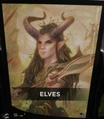 Elves Theme Card