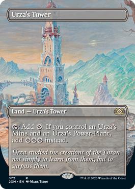 Urzas Tower - Foil - Borderless