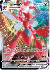 Scizor VMAX - 119/189 - Ultra Rare on Channel Fireball