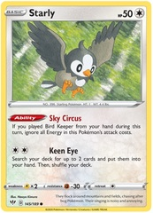 Starly - 145/189 - Common
