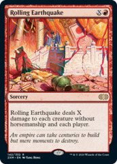 Rolling Earthquake - Foil