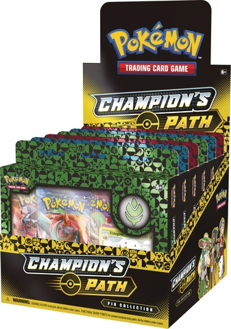 Champions Path Pin Collection Display
